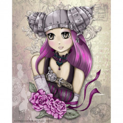 GK2430089 - 24x30 - Girly Steampunk