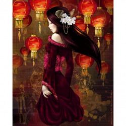 Image pour tableaux 3D 24x30 cm  Geisha GK2430090  -  Aux Bleuets Loisirs créatifs à Reims
