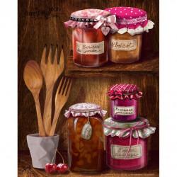 Image 3D - GK2430091 - 24x30 - Confitures gourmandes