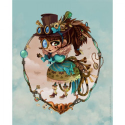 Image 3D - GK2430092 - 24x30 - Lolita steampunk