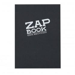 ZAP BOOK COLLE NOIR A6 80G 160F