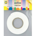 ROULEAU MOUSSE ADHESIVE 12MM X 2 MM X 2M