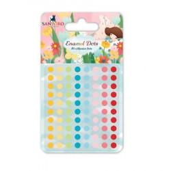 Kori Kumi 1/2 perles adhésives multicolores x80