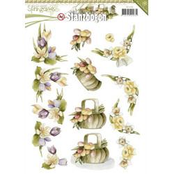 Carterie 3D Prédécoupée - Precious Marieke Fleurs