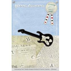 Die - Yvonne Creations - Men - Guitare 2,5 x 7,5 cm