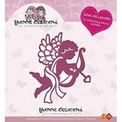 Die - Yvonne Creations - Cupidon 6 x 7 cm.
