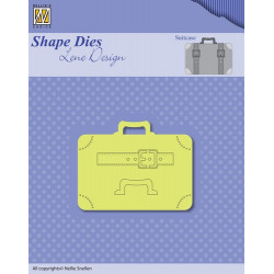 Die - Lene Design - Men things - Valise 6 x 4,5 cm