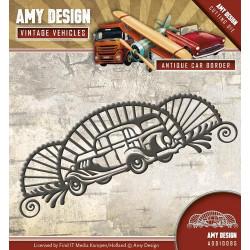 Die - Amy Design - Vintage Vehicule - Voiture 12,3 x 4,2 cm.