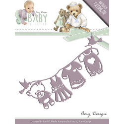 Die - Amy Design - Baby - fil à linge 11,6 x 5 cm