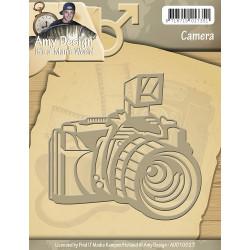 Die - amy design - man's world - appareil photo 8 x 6 cm
