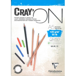 Bloc Cray'On Encollé A5 50F 120g