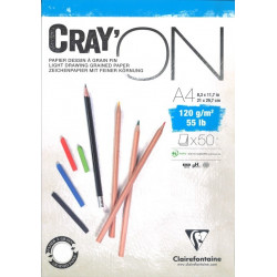 Bloc Cray'On Encollé A4 50F 120g