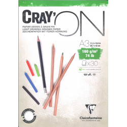 Bloc Cray'On Encollé A3 30F 160g