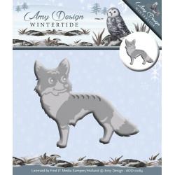 Die - amy design - wintertide - renard 7 x 6 cm.