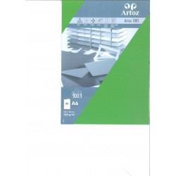 Carte Double A6 210X148 mm Paquet de 5 - Vert de Mai