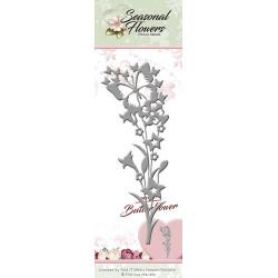 Die - precious marieke - fleurs papillon 12,5 x 4,5 cm.