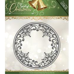 Die - precious marieke - cercle flocon 13,5 et 12,8 cm.