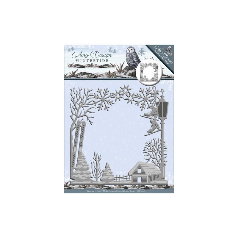 Die - Amy Design - Hiver cadre 12,5 x 13 cm