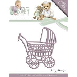Die - Amy Design - Baby - Landau 5,8 x 6,2 cm.