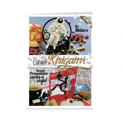Cahier de kirigami n°24 - les métiers
