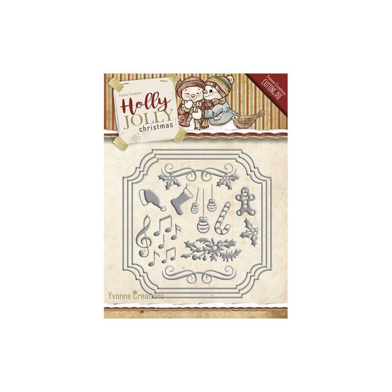 Die - Yvonne Creations - Objets de Noël 12.5 x 12.5 cm