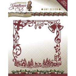 Die - Amy Design - Cadre Noël 13 x 12,5 cm.