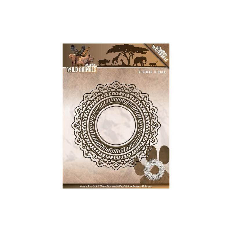 Die - Amy Design - Cercles dentelle 5,2 x 5,2 cm, 7,5 x 7,5 cm, 12,1 x 12,1 cm