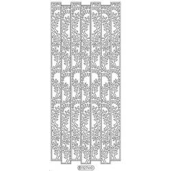 Stickers - 1274 - bordure - or