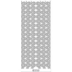 Stickers - 1275 - bordure - or