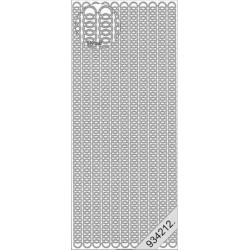 Stickers - 1076 - bordure - or