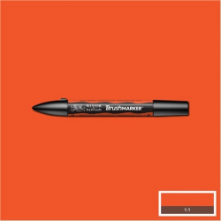BRUSHMARKER - ORANGE BRILLANT O177