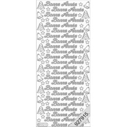 Stickers - 0552 - bonne annee - or
