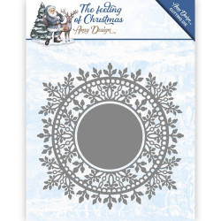 Die - Amy Design - Cercle cristaux de glace 13.5 x 13.5 cm