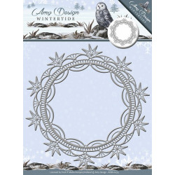 Die - Amy Design - Cadre cristaux de glace 13.5 cm