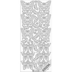 Stickers - 0124 - papillon...