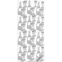 Stickers - 1068 - champagne...