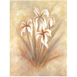 Image 3D - 0707072 - 24x30 - fleurs pastels