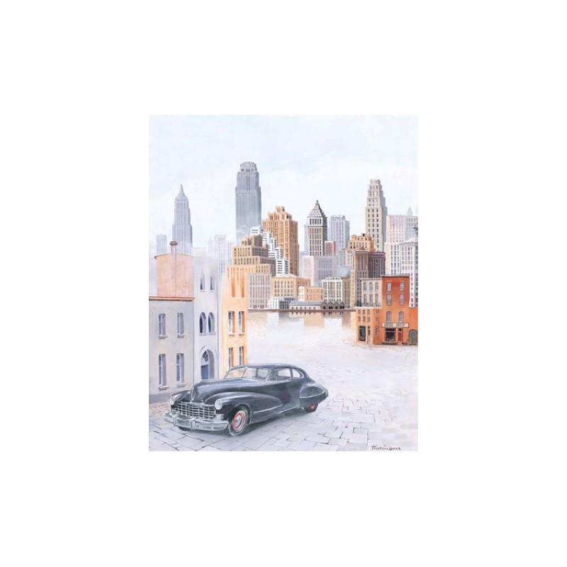 Image pour tableaux 3D 2000728 - 40x50 - Ville 1