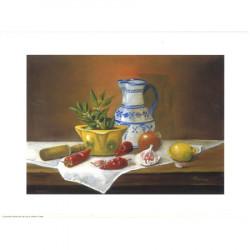 Image pour tableaux 3D ASTRO 352 - 24X30 - Carafe porcelaine et légumes - Aux bleuets Loisirs créatifs à Reims