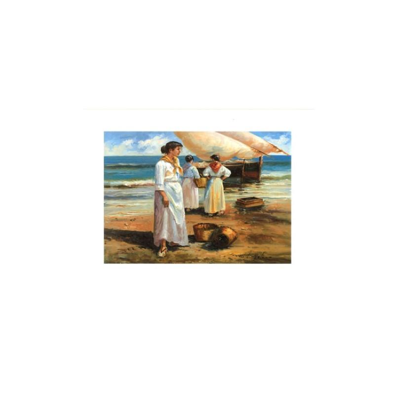 Image pour tableaux 3d ASTRO 406 - 24X30 - FEMME A LA MER - Aux bleuets Loisirs créatifs à Reims