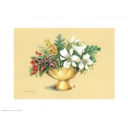 Image pour tableaux 3d ASTRO 517 - 24X30 - Coupe dorée fleurs blanches - Aux bleuets Loisirs créatifs à Reims