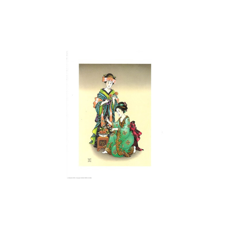 Image 3D - OR 63 - 24X30 - Chinoise art floral - Aux Bleuets Loisirs créatifs à Reims