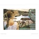 Image pour tabelaux 3D E16 - 24X30 - Femme de dos et falaises - Aux Bleuets Loisirs créatifs à Reims