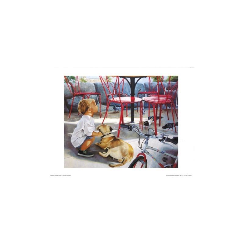 Image pour tableaux 3E17 - 24X30 - Enfant accroupi - Aux Bleuets Loisirs créatifs à Reims
