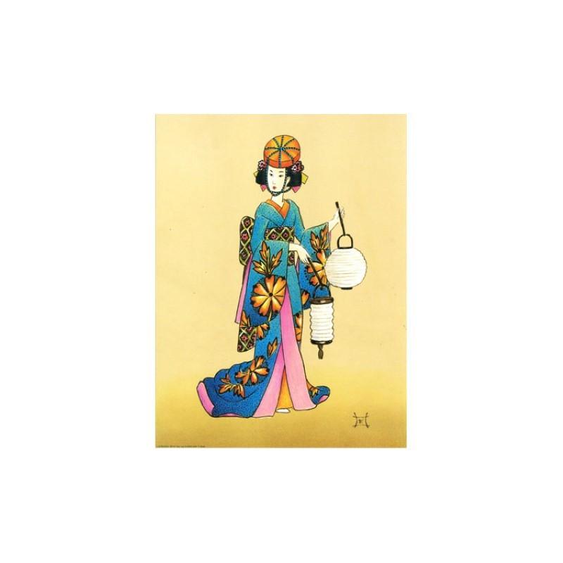 Image 3D - OR 69 - 24X30 - Chinoise avec lampions - Aux Bleuets Loisirs créatifs à Reims