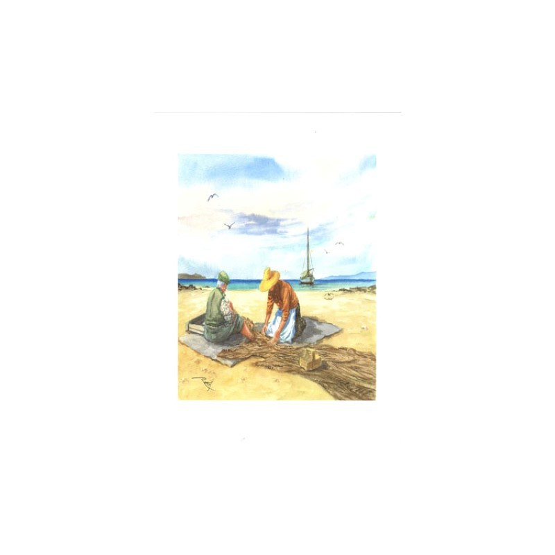 Tableaux 3D VENEZIA 229 - 24X30 - Couple sur plage