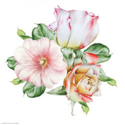 Image 3D 30x30 - GK3030081 - Trio de fleurs