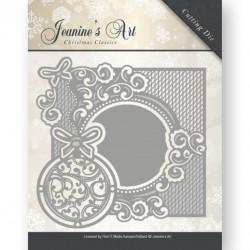 Die - Jeaninnes Art - Cadre Boule 13,6 x 13,5 cm.