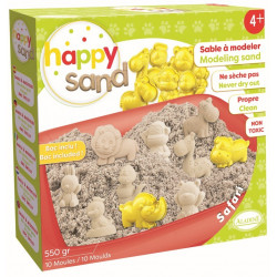 Kit Happy Sand 550 g - Moules XL - Safari