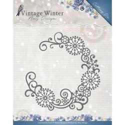 Die - Amy Design - Snowflake Swirl Round 12.2 x 12.2 cm
